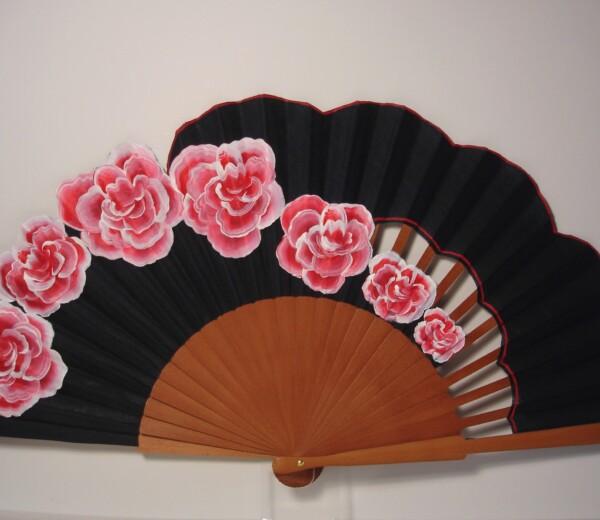 Rosas de Granville en negro
