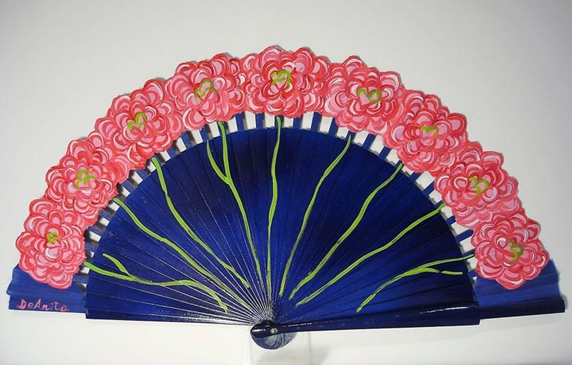 Abanico floral Ramo de rosas