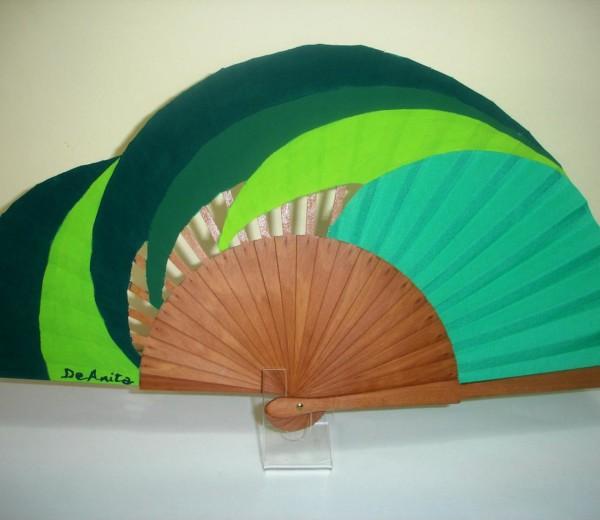 Espirales en verde